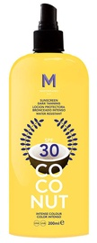 Mediterraneo Sun Coconut Suntan Oil Dark Tanning SPF30 200ml