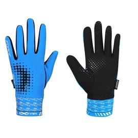 Перчатки Force Extra 17 Full Gloves Blue/Black S