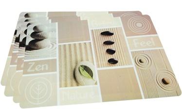 Fissman Table Mat Set 4Pcs 43.5x28.5cm Zen Feel 0652
