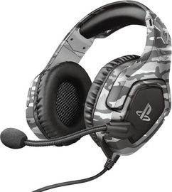 Trust GXT 488 Forze Over-Ear Gaming Headphones Grey