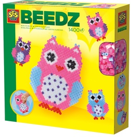 SES Creative Beedz Iron On Beads Owl 06124S
