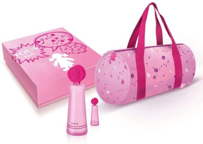 Детские духи Tous Kids Girl 100ml EDT + 4ml EDT + Handbag