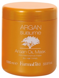 Kaukė plaukams Farmavita Argan Sublime Argan Oil, 1000 ml