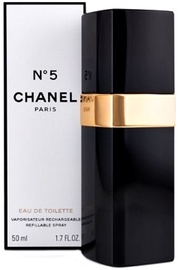 Kvepalai Chanel No.5 50ml EDT Refillable Spray