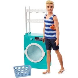 Mattel Barbie Ken Laundry Room Playset FYK52