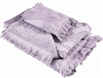Ardenza Blossom Terry Towels Set 3pcs Orchid