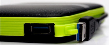 "Silicon Power 3TB Armor A60 2.5"" USB 3.0 Black"