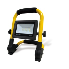 Прожектор Okko, 20 Вт, 1500 лм, 5000 °К, IP65, черный/желтый
