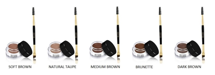 Milani Stay Put Brow Color 2.6g 03