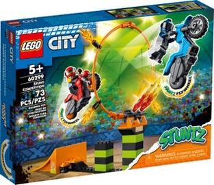 Konstruktors LEGO City Kaskadieru sacensības 60299, 73 gab.