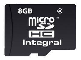 Integral 8GB MicroSDHC Class 4