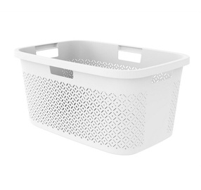 Корзина для белья Curver Terrazzo Laundry Basket 40l White