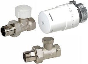 ARCO Teide Thermostat Radiator Valve Straight Set 1/2''