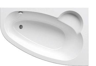 Vonia Ravak Asymmetric, 160 x 105 cm, dešininė