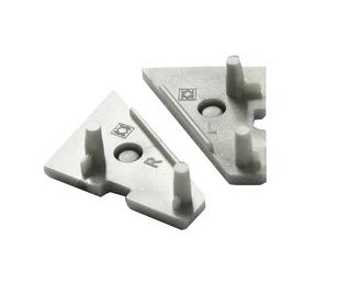 Aliuminio profilio galinis dangtelis Topmet Corner10
