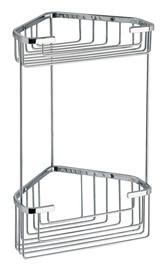 Gedy Wire Corner Shelf For Shower 2482-13 Chrome