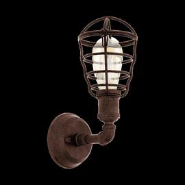 Sieninis šviestuvas Eglo Vintage Port Seton 49811, 1 x 60W E27