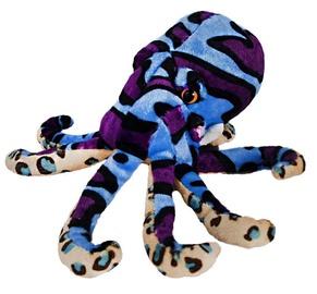 Beppe Plush Octopus Blue 20cm 13374