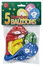 Viborg Balloons Number 4 5pcs 80506-4H