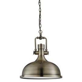 Retro stiliaus pakabinamas šviestuvas Searchlight Industrial 1322AB, 1 x 10W E27