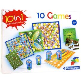 Stalo žaidimas Clemetoni 10in1 Games 60317