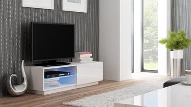 TV-laud Halmar Livo RTV 120S Glossy White, 1200x400x380 mm
