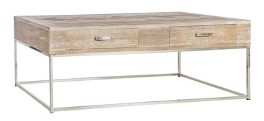 Kohvilaud Home4you Tambet Teak, 1300x700x440 mm