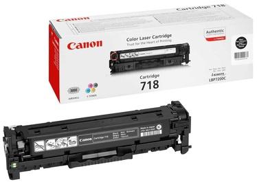 Lazerinio spausdintuvo kasetė Canon 718 Black 1pcs
