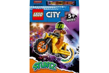 Konstruktors LEGO City Ārdīšanas triku motocikls 60297, 12 gab.