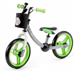 KinderKraft 2Way Next With Basket Green/Grey