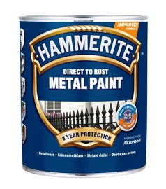 Metallivärv Hammerite Smooth hõbedane 750ml