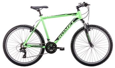 """Dviratis Romet Rambler R6.1 14"""" 26"""" Green Black 19"""