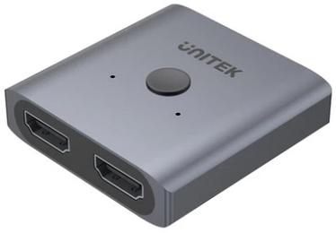 Адаптер Unitek, HDMI / HDMI, серебристый