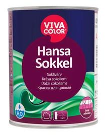 Fasadų dažai Vivacolor Hansa Sokkel A, balti, 0.9 l