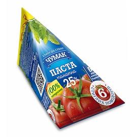 Pomidorų pasta CHUMAK Tomato paste 25%, 70 g