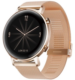 Išmanusis laikrodis Huawei Watch GT 2 42mm Refined Gold