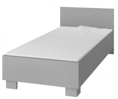 Bērnu gulta Idzczak Meble Smyk II 36 Gray, 206x93.5 cm