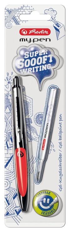 Herlitz Gel Ballpoint Pen my.pen Black/Red 11370038