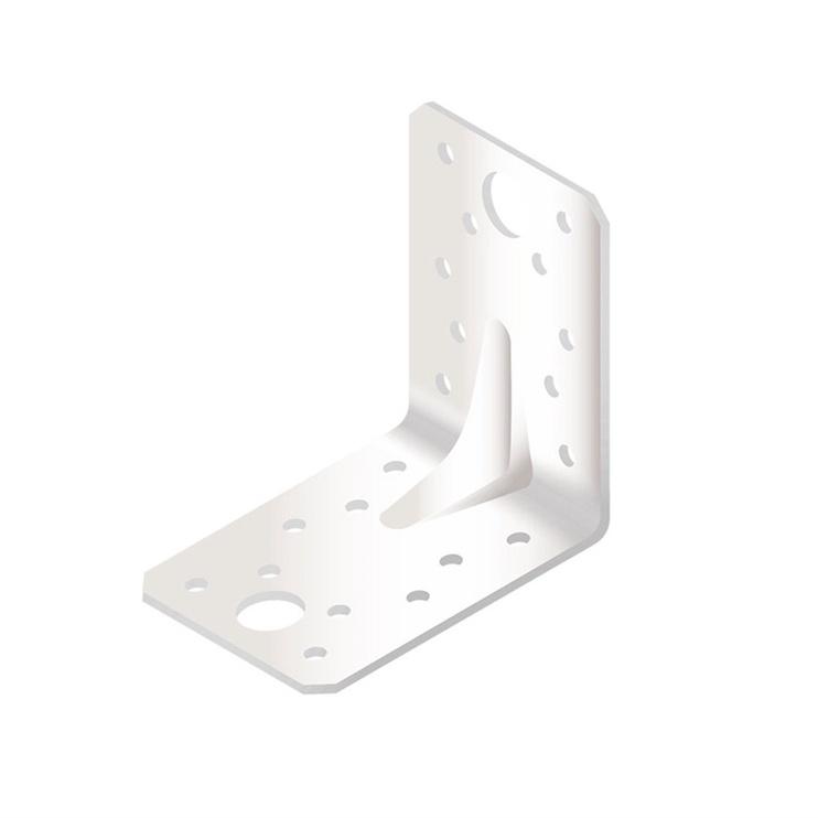 Крепежный уголок Arras Reinforced Angle Bracket 150x90x150mm White