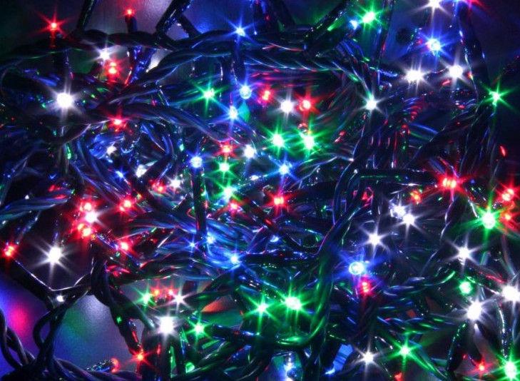 Электрическая гирлянда Verners LED 180, многоцветный, 5 м