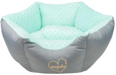 Amiplay Babydoll Crown Bed L 68x23cm Mint