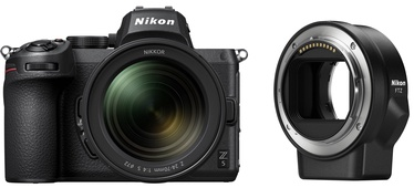 Nikon Z5 + Nikkor Z 24-70mm f/4 S + FTZ Adapter