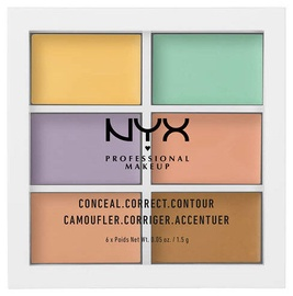 NYX Color Correcting Palette 6x1.5 g