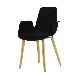 Valgomojo kėdė PP-658C, juoda