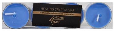 Home4you Teacandles 4pcs Healing Crystal Spa