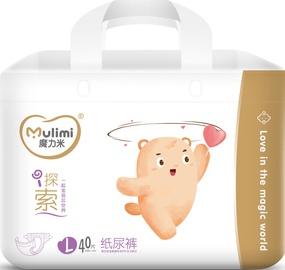 Подгузники Mulimi L, L, 40 шт.