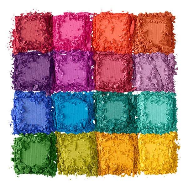 Acu ēnas NYX Ultimate Shadow Palette Brights, 16x0.83 g