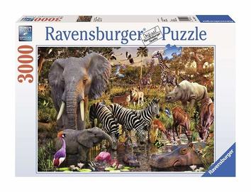 Puzle Ravensburger African Animals, 3000 gab.