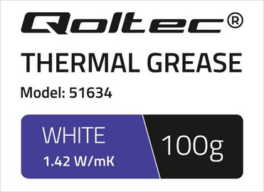 Qoltec Thermal Grease 1.42 W/m-K 100g