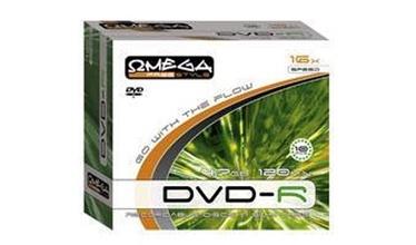 Kompaktinis diskas DVD-R Omega Freestyle, 4,7 GB